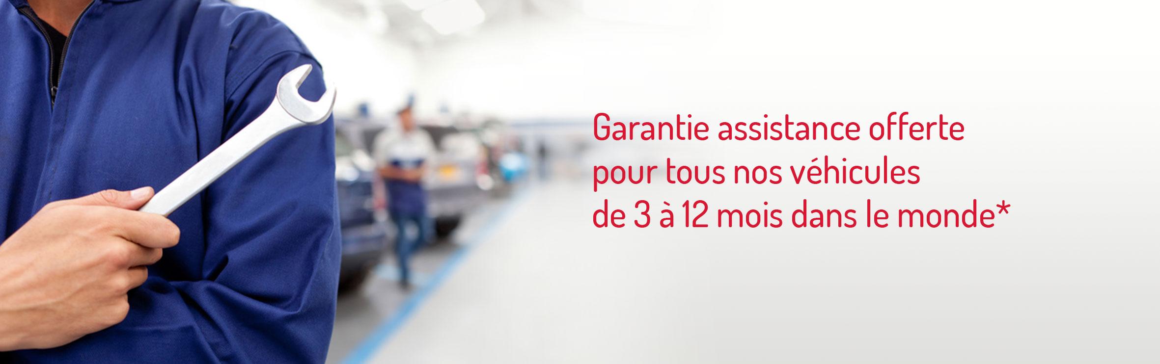 garantie assistance offerte